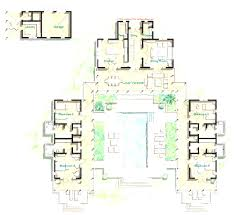Hacienda Floor Plans With Courtyard 222 Best Floor Plans Images On Pinterest House Beautiful With