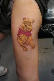 winnie the pooh tattoos this is the one i will get along with