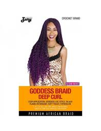 toyokalon hair for braiding ny zury synthetic crochet braid goddess loc braid deep curl 26