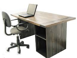 Modern Rustic Desk Made Farmhouse Style Office Desk By Custom Made Furniture