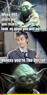 10th Doctor Meme - yoda vs 10th doctor meme by alexander13997 memedroid