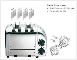 Dualit Sandwich Toaster Dualit 2 Slice Sandwich Toaster Spares Aj Stuart