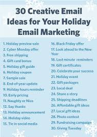 25 holiday emails ideas christmas newsletter