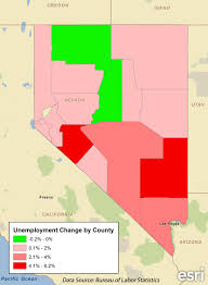 nevada counties map examining nevada s political leanings pam allison