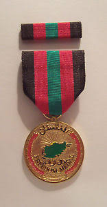 afghanistan ribbon afghanistan freedom medal with ribbon ebay