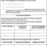 nonprofit business plan template word boblab us