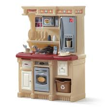 Wood Designs Play Kitchen Step2 Lifestyle Custom Kitchen Maroon Toys