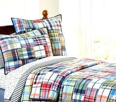 Pottery Barn Madras Curtains Madras Plaid Quilt Your Guide To A Preppy Chic Home Madras Plaid