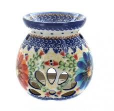 blue rose polish pottery home decor