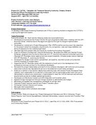 Pmp Sample Resume by Sample Pmp Resume Project Manager Resume Sample Finance Template