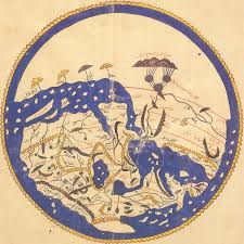 Map Of Thw World by Map Of The World In 1154 According To A Morocco Cartographer