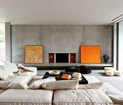 home interior design tips 40 stylish living rooms that use concrete to stand out