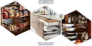 smart kitchen cabinet storage ideas 44 smart kitchen cabinet organization ideas godiygo