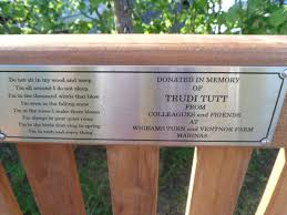 Memorial Benches Uk Engraved Memorial And Commemorative Plaques From Premier Engraving