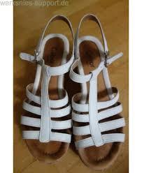 geschenk 5 hochzeitstag geschenke gabor sandalen weiß gr 40 6 5 mit kork schuhe