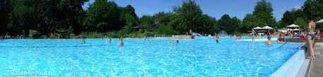 Strandbad Bad Schachen Schwimmbad Schachen Freibad Aarau