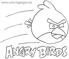 angry bird go coloring pages