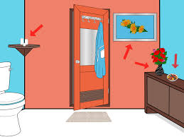 Orange Bathroom How To Accessorize A Bathroom 13 Steps With Pictures Wikihow