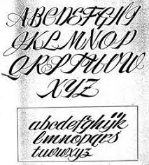 cursive fonts alphabet for tattoos tatted pinterest cursive