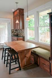 Bench Seat Kitchen Kitchen Table Bench Height U2014 Home Design Blog Versatility Of