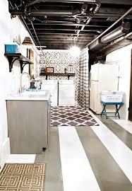 chic ideas exposed basement ceiling basements ideas