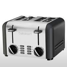 Motorised Toaster Cpt 240tna Toaster 4 Slice Titanium Cuisinart