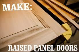 Make Raised Panel Cabinet Doors Skill Builder How To Make Raised Panel Cabinet Doors Part I