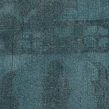 Blue Wool Rug 8x10 Paoli Bazaar Overdyed Teal Blue Wool Rug 8x10 Kathy Kuo Home