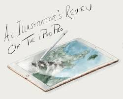 an illustrator u0027s review of the ipad pro and apple pencil