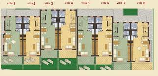 semi detached house floor plan furnished 2 bedroom semi detached house with sea view