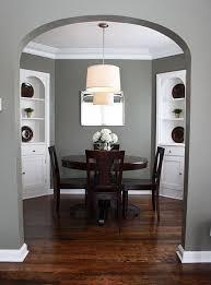 charming dining room paint colors dark wood trim photos best