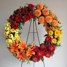 memorial wreaths floral