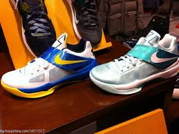easter kd 4s nike zoom kd iv easter white tour yellow photo blue new images