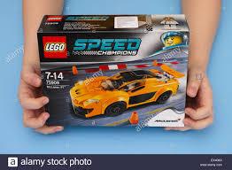 lego speed champions mclaren tambov russian federation march 04 2015 lego speed champions