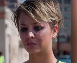 why kaley cucoo cut her hair the indie movie kaley cuoco cut her hair for