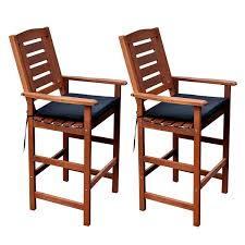 Bar Height Patio Chair Miramar Bar Height Patio Chairs Set Of 2 Jcpenney