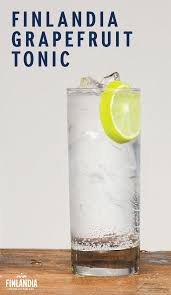 vodka tonic lemon spend time outdoors and enjoy a finlandia grapefruit tonic serve