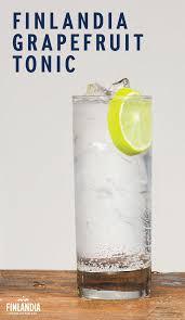 vodka tonic lemon spend time outdoors and enjoy a finlandia grapefruit tonic serve