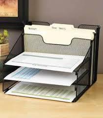 5 shelf desk organizer blue mesh desktop file organizer w 5 compartments office supply