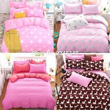 Full Duvet Cover Dimensions Easy Twin Bed Quilt Patterns New Girls Daisy Flower Butterfly Pink