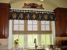 captivating window treatment ideas for kitchen with modern