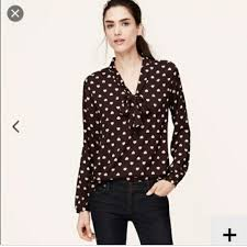 bow tie blouse loft nwt loft bow tie blouse sz small from posh s closet