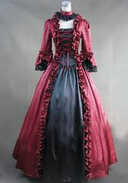 Victorian Dress Halloween Costume Wholesale Autumn Winter Dress Gosick Carnival Costume Cute