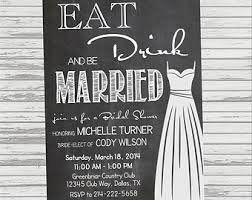 eat drink and be married invitations bridal shower invitations bridal shower invitations eat drink and