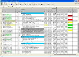 Microsoft Project Excel Template Easyprojectplan Excel Template 8 5 Free