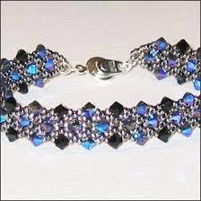 free bracelet beading patterns images Mabeline gidez crystal tapestry bracelet pattern jpg