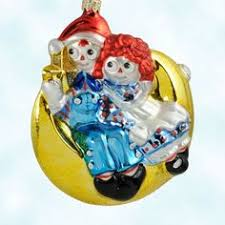 raggedy doll glass collectible keepsake tree