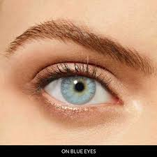 light blue eye contacts icy blue desio color contact lenses