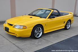 1998 ford mustang cobra for sale 1998 ford mustang cobra autobahn