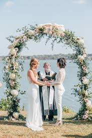 wedding arches dallas tx tx wedding planner lgbt brunch wedding on white rock lake